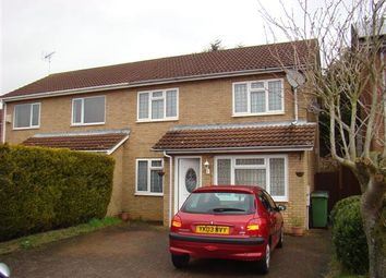Thumbnail 4 bed semi-detached house for sale in Naseby Close, Wellingborough
