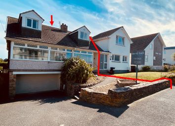 Thumbnail 3 bed semi-detached house for sale in Pentire Avenue, Newquay