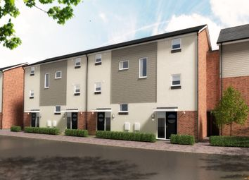 Thumbnail 3 bed town house for sale in Hawkins Lane, Burton-On-Trent