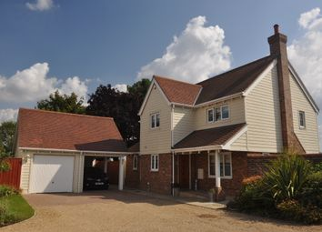 Thumbnail 4 bed detached house for sale in Evergreen Close, Crowfield, Ipswich