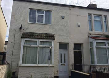 Thumbnail 3 bedroom end terrace house to rent in Croxteth Avenue, Liverpool