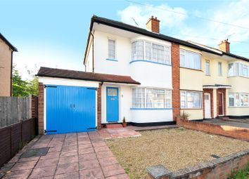 Thumbnail 2 bedroom semi-detached house for sale in Hatherleigh Road, Ruislip Manor, Middlesex
