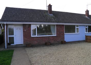 Thumbnail Semi-detached bungalow to rent in Meadowfield, Sleaford