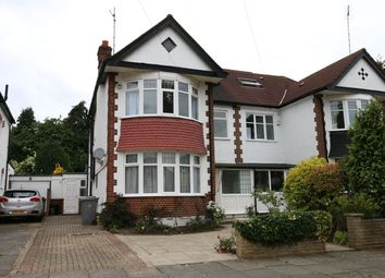 Thumbnail 5 bed semi-detached house to rent in Ravenscroft Avenue, Wembley