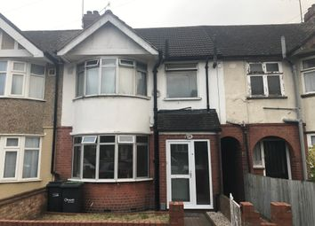 Thumbnail 3 bedroom terraced house to rent in Grosvenor Road, Luton