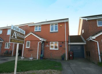 Thumbnail 3 bed link-detached house for sale in Spinney Close, Selsey, Chichester