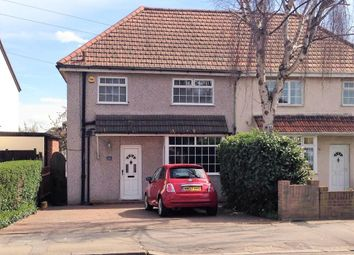 Thumbnail 3 bed semi-detached house to rent in Gubbins Lane, Harold Wood, Romford