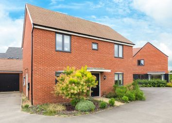 Thumbnail 4 bed detached house for sale in Robinson Close, Wootton, Bedford