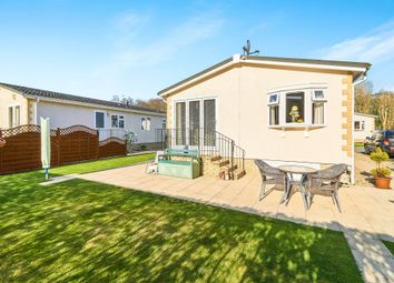 Thumbnail 2 bedroom mobile/park home for sale in Plymvalley Meadow, Leigham Manor Drive, Plymouth