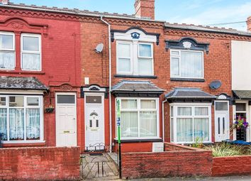 Thumbnail 3 bed terraced house for sale in Selsey Road, Edgbaston, Birmingham