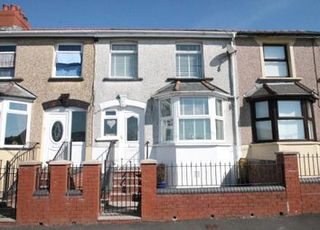 Thumbnail 3 bed terraced house for sale in Garden City, Rhymney, Caerphilly Borough