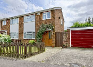 Thumbnail 3 bed semi-detached house for sale in Windsor Close, Eynesbury, St. Neots