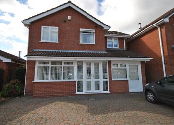 Thumbnail 4 bed detached house to rent in Newey Road, Hall Green, Birmingham