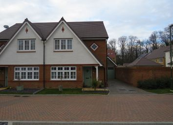 Thumbnail 3 bed semi-detached house for sale in Whalebone Wood Road, Pease Pottage, Crawley