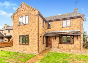 Thumbnail 4 bed detached house for sale in The Bramleys, Barkers Lane, March