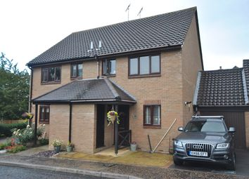 Thumbnail 3 bed semi-detached house for sale in The Dell, Great Baddow, Chelmsford
