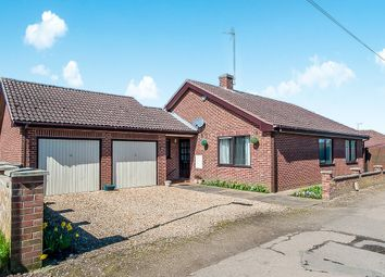 Thumbnail 2 bed detached bungalow for sale in Elm Low Road, Elm, Wisbech