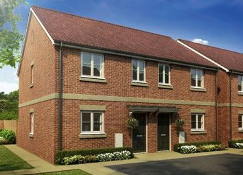 Thumbnail 3 bed end terrace house for sale in Main Road, Barleythorpe, Oakham