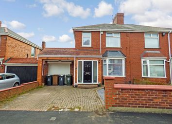 Thumbnail 3 bed semi-detached house for sale in St. Georges Crescent, North Shields