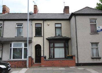 Thumbnail 3 bed terraced house for sale in Wharf Road, Newport