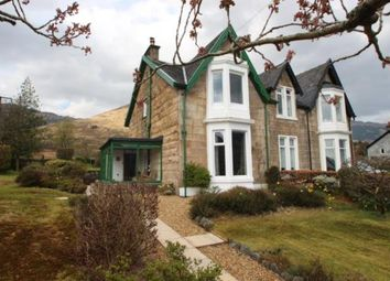 Thumbnail 3 bed semi-detached house for sale in Carrick Castle, Lochgoilhead, Cairndow, Argyll And Bute