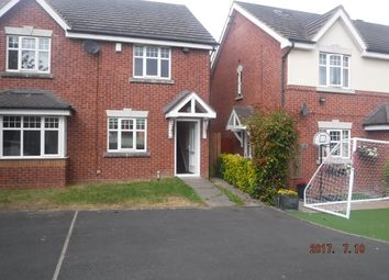 Thumbnail 2 bedroom semi-detached house to rent in Oxford Way, Tipton