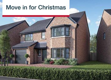 Thumbnail 4 bedroom detached house for sale in Kings Crest, Stafford