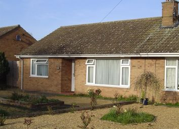 Thumbnail 2 bedroom semi-detached bungalow to rent in Orchard Way, Wimblington