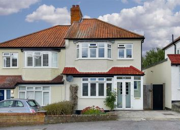 Thumbnail 3 bed semi-detached house for sale in The Greenway, Epsom, Surrey