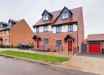 Thumbnail 3 bed semi-detached house for sale in Dutimoors Drive, Lawley, Telford