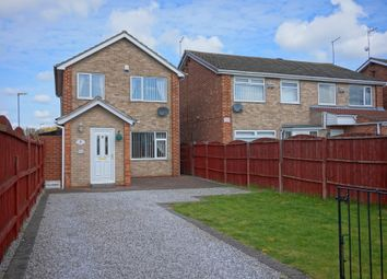 Thumbnail 3 bed detached house for sale in Jendale, Sutton-On-Hull, Hull