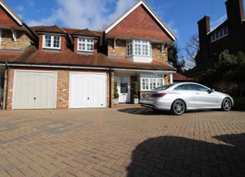 Thumbnail 4 bed semi-detached house for sale in Page Heath Lane, Bromley
