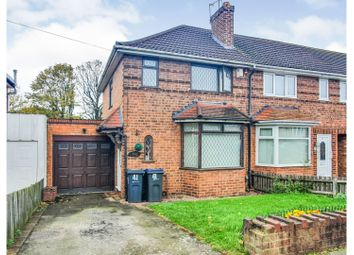 3 bed end terrace house for sale in Larne Road, Birmingham B26