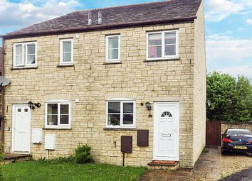 Thumbnail 2 bed semi-detached house to rent in Aldsworth Court, Witney, Oxfordshire