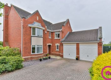 Thumbnail 4 bed detached house for sale in Galileo Gardens, Cheltenham