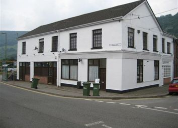 Thumbnail 1 bed flat to rent in High Street, Abercarn, Newport