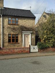 Thumbnail 2 bedroom semi-detached house to rent in The Street, Earsham, Bungay.