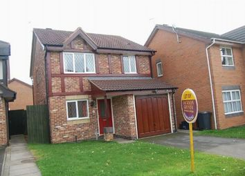 Thumbnail 3 bed detached house to rent in Cottesbrooke Gardens, East Hunsbury, Northampton