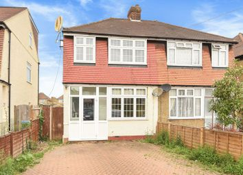 Thumbnail 3 bed semi-detached house for sale in Beechcroft Road, Chessington