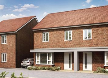 "Thumbnail 3 bed semi-detached house for sale in ""Larch"" at Hedgers Way, Kingsnorth, Ashford"