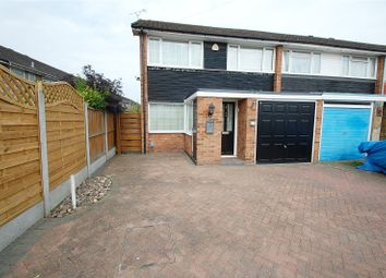 Thumbnail 3 bed end terrace house for sale in Detling Close, Hornchurch