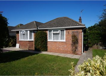 Thumbnail 3 bed detached bungalow for sale in Baker Road, Bournemouth