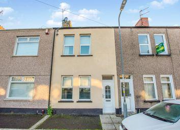 Thumbnail 3 bed terraced house for sale in Barthropp Street, Newport