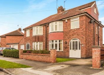 Thumbnail 4 bed semi-detached house for sale in Cranbrook Road, York