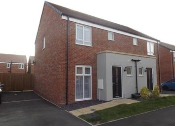 Thumbnail 3 bedroom semi-detached house for sale in Saxonbury Way, Peterborough, Cambridgeshire