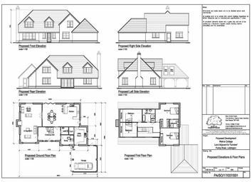 Thumbnail 5 bed detached house for sale in Purley Road, Liddington, Swindon
