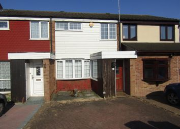 Thumbnail 3 bed terraced house for sale in St Pauls Close, Aveley, South Ockendon