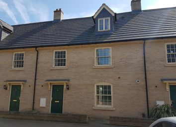 Thumbnail 4 bed terraced house to rent in Ascot Close, Exning
