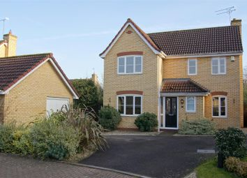 Thumbnail 3 bedroom detached house for sale in Radnor Close, Bury St. Edmunds