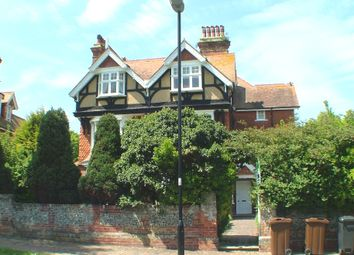 Thumbnail 3 bed flat to rent in Denton Road, Eastbourne